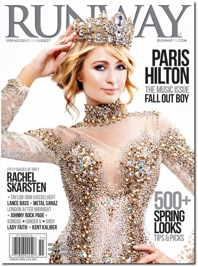 Người mẫu ảnh bìa trên các tạp chí thời trang sang chảnh