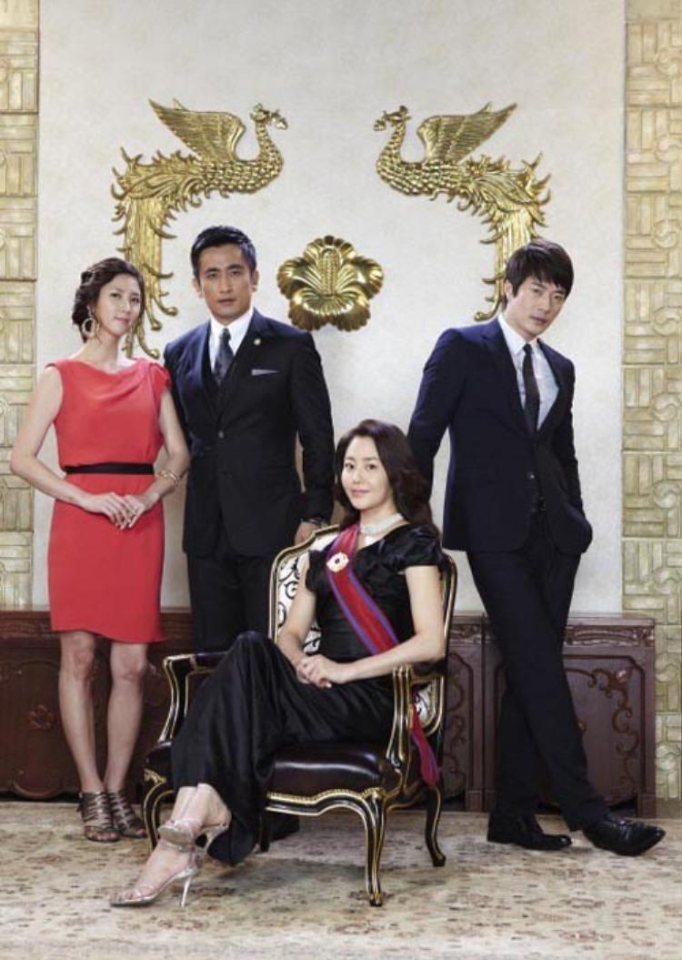 Bốn diễn viên chính của bộ phim Daemul.
