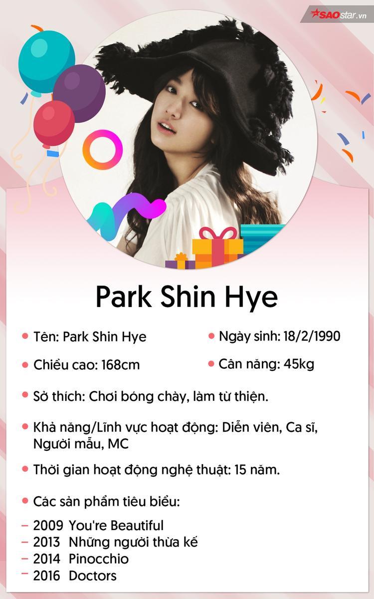 Em gái quốc dân Park Shin Hye và những điều thú vị phía sau ánh hào quang
