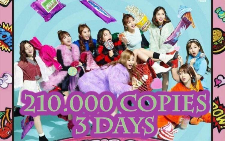 Chúc mừng TWICE với thành công của Candy Pop tại Nhật Bản.