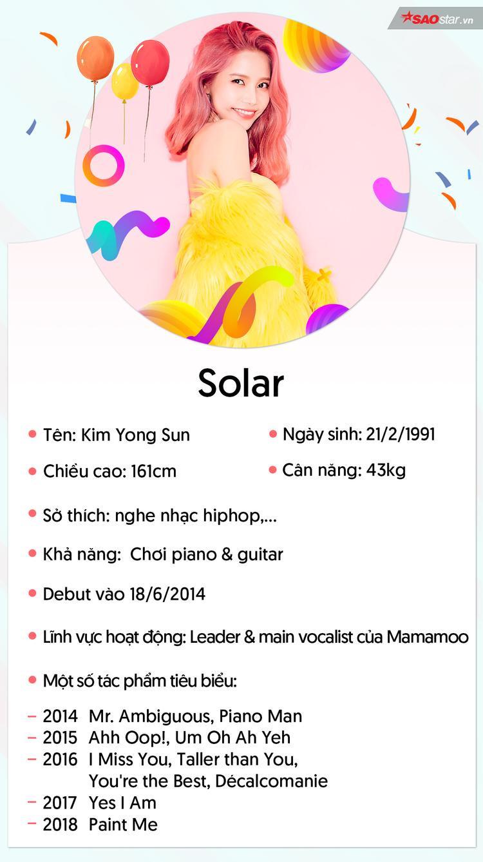 Solar: Quá khứ bị nhiều công ty từ chối và main vocal cực đỉnh nhà Mamamoo