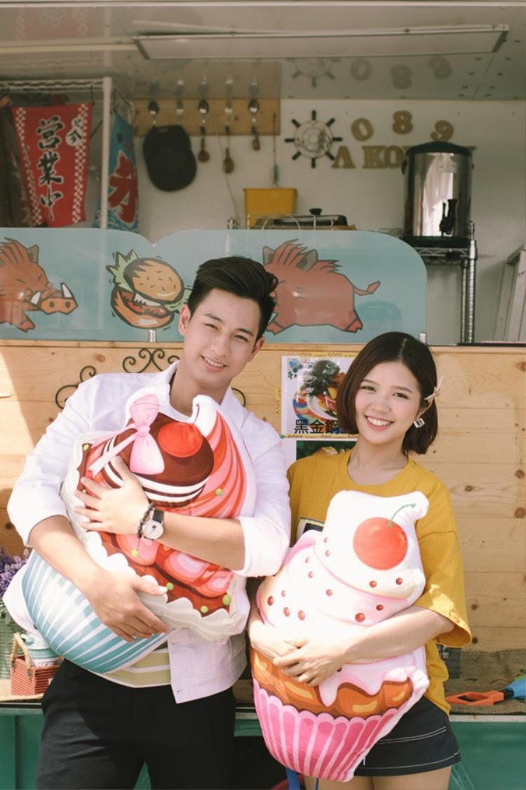 Những cảnh quay lung linh của MV được cô nàng thực hiện trọn vẹn tại Đài Loan với một mối tình ngọt ngào.