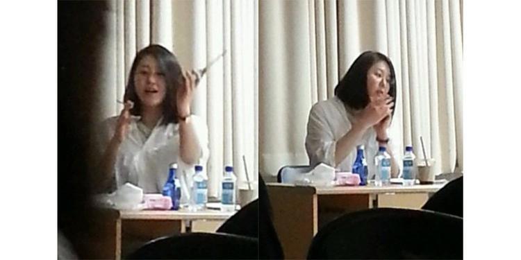 Học trò cũ của Go Hyun Jung tố cáo cô hút thuốc và thường xuyên đi dạy trễ.