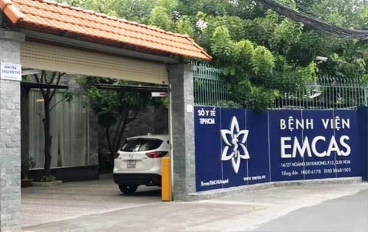 Bệnh viện Thẩm mỹ Emcas, nơi xảy ra vụ tai biến sau khi làm đẹp làm nạn nhân tử vong sau gần 5 tháng hôn mê.