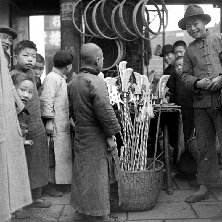 Tết Nguyên đán ở Trung Quốc vào năm 1946.