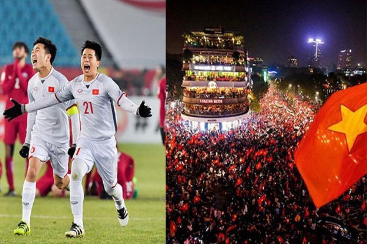 U23 Việt Nam không chỉ giúp NHM bóng đá trong nước cảm thấy vui sướng, mà còn gây bất ngờ cho bạn bè quốc tế.