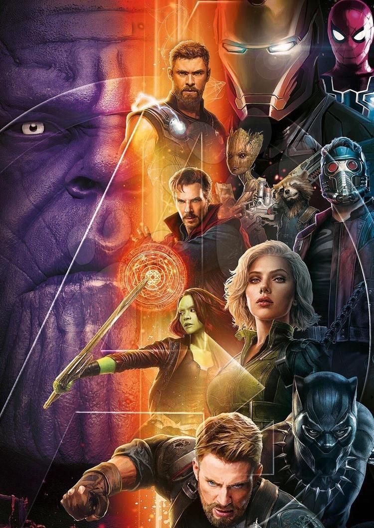 Thor không bịt mắt chột bên phải trong tấm poster mới nhất của Infinity War