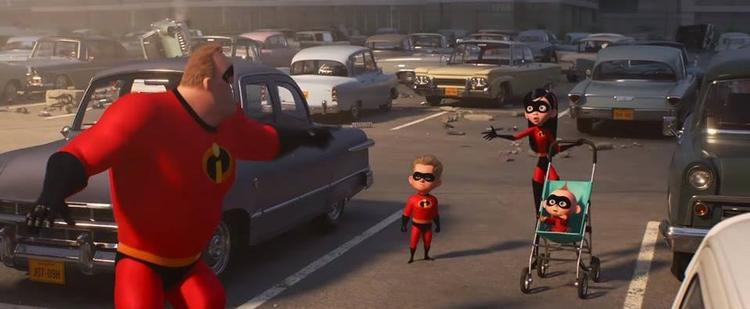 Gia đình siêu nhân 2 tung trailer dễ thương quá cỡ