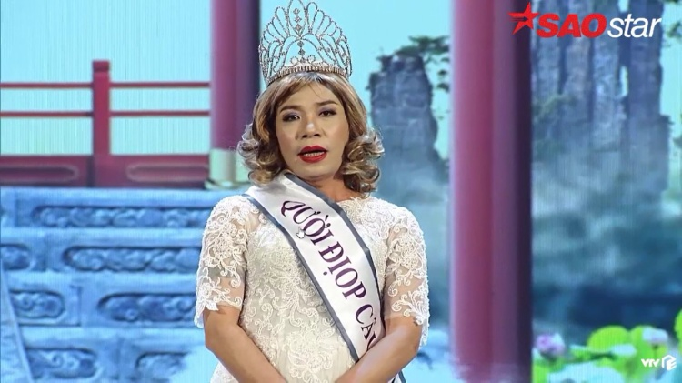 Bắc Đẩu nhại Hoa hậu Đại dương: Nếu đăng quang, em sẽ về nhà ôm cha mẹ, phát kẹo cho trẻ em