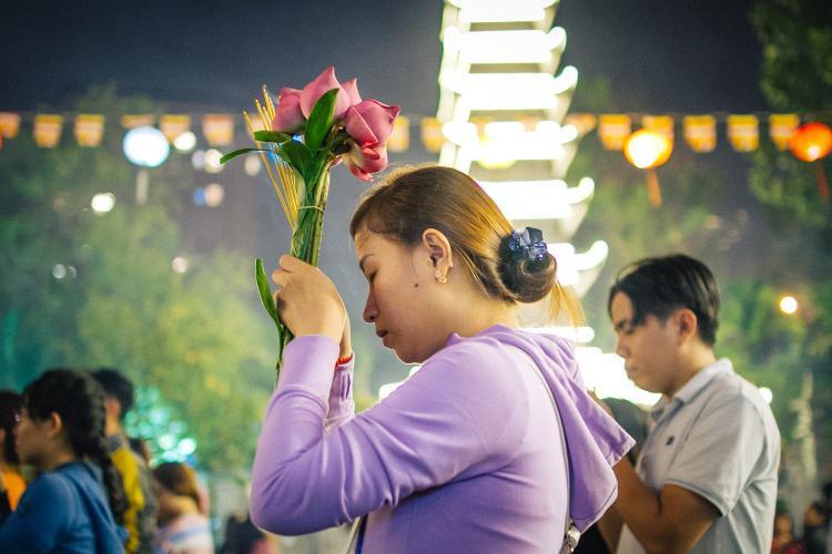 Cầu bình an, cầu sức khỏe, tiền tài, may mắn… - đó là những điều mọi người dân mong muốn sẽ có được trong năm mới