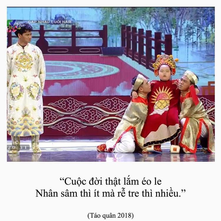 """Năm nào, Nam Tào cũng để lại cho đời nhiều phát ngôn """"chất lừ""""."""