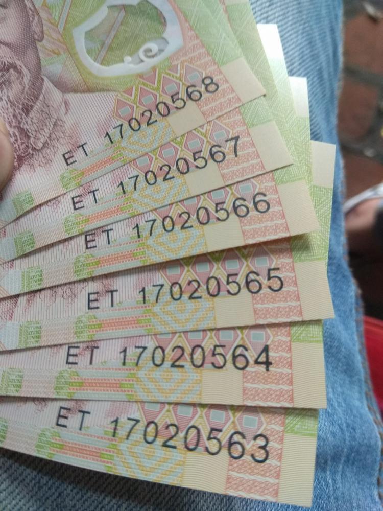 Nguyễn Hoa cũng khoe số tiền lì xì mà cô bạn nhận được. Có thể không nhiều bằng những bạn khác nhưng đối với cô rất có ý nghĩa.