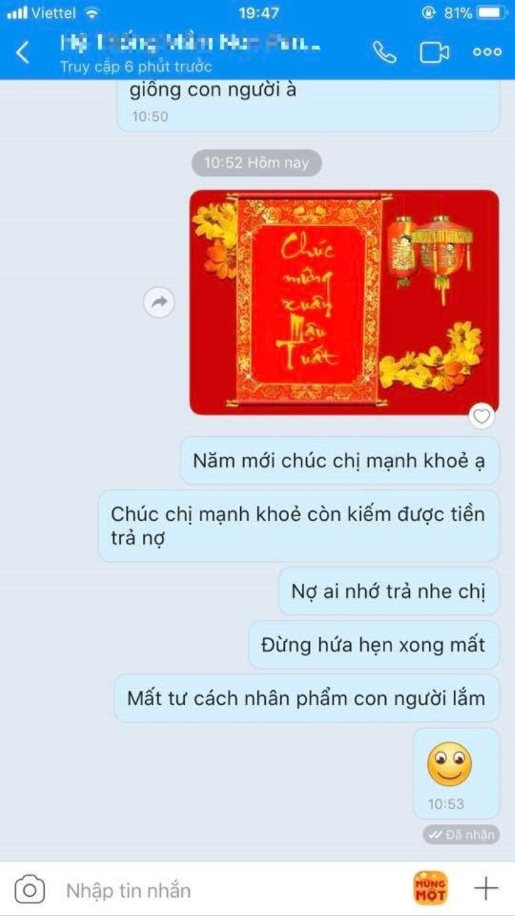 """Lời nhắn nhủ vừa nhẹ nhàng vừa sâu cay đến """"con nợ"""" của bạn Vũ Huy Hoàng."""