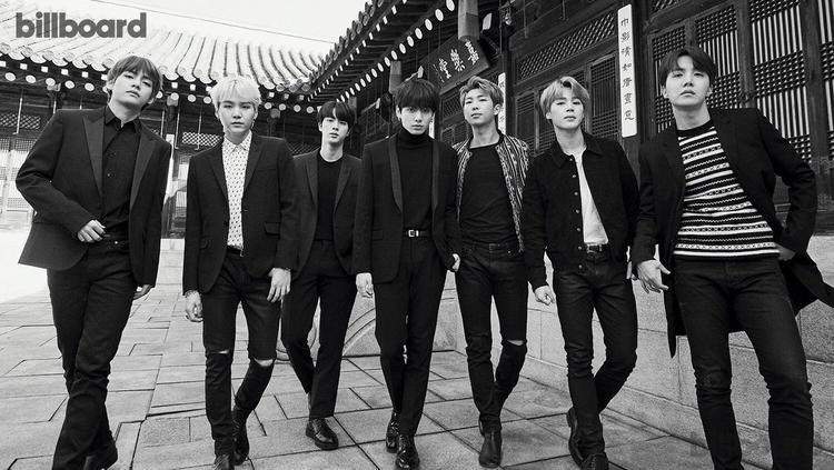 BTS trong bộ hình mới nhất cùng Billboard.