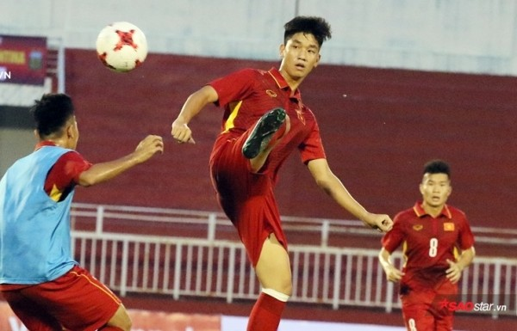 Trọng Đại không được ra sân ở U23 châu Á 2018.