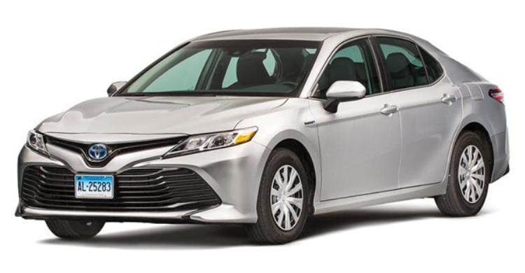 Toyota Camry Hybrid cũng có thành tích thử nghiệm tương tự ở mức cao hơn một chút ở mức 38 mpg.