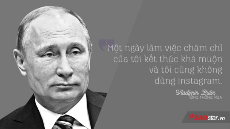 Những thói quen công nghệ khác thường của Tổng thống Nga Vladimir Putin