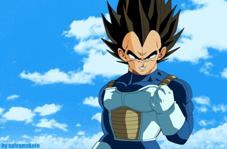 Vegeta của Dragon Ball.