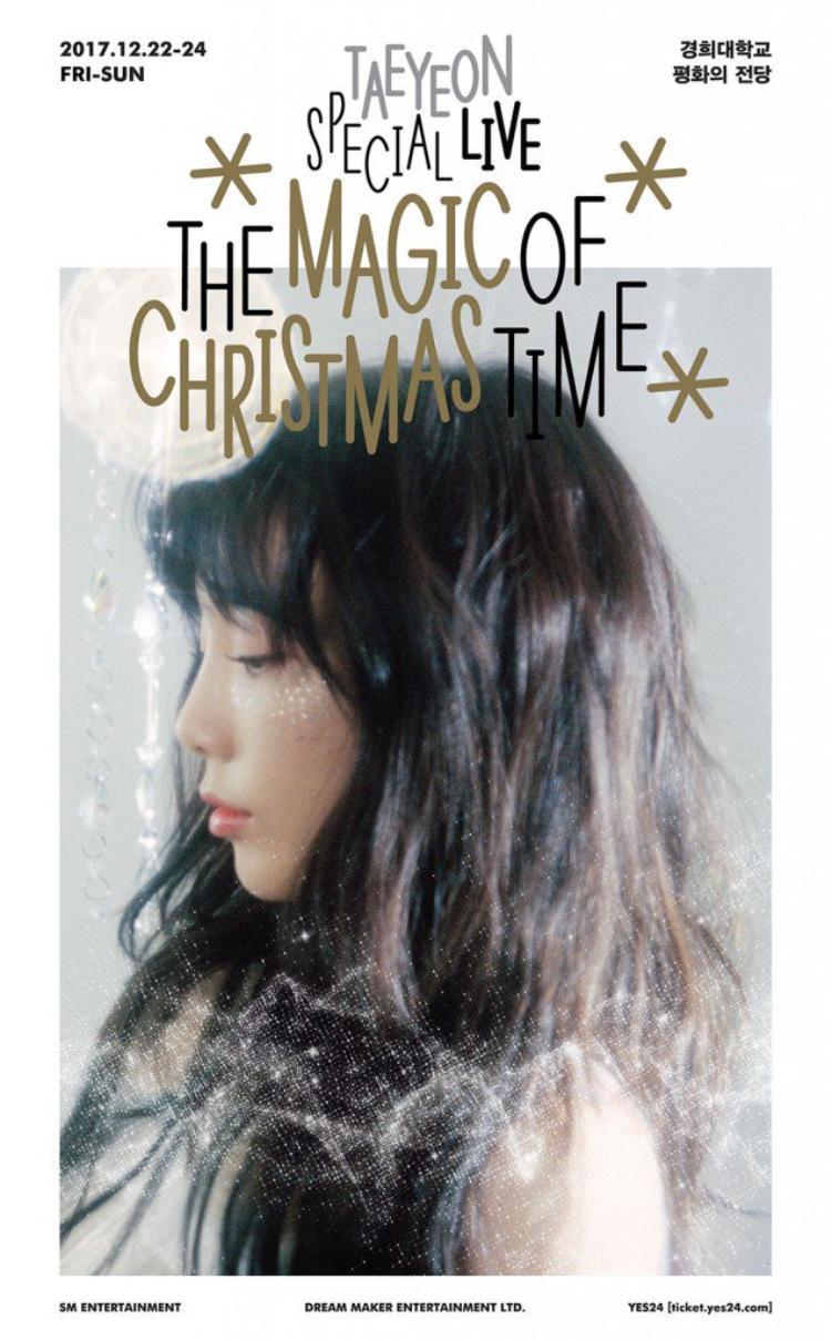 Những fan không có dịp đón Giáng sinh cùng Taeyeon hoàn toàn có thể được bù đắp bởi DVD lần này.