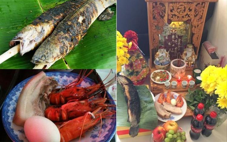 Ngoài ra, một số gia đình còn cúng cá nướng và cua trong ngày vía Thần Tài.