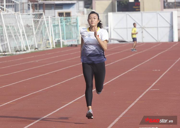 Mục tiêu của Tú Chinh là giành huy chương tại ASIAD 2018.