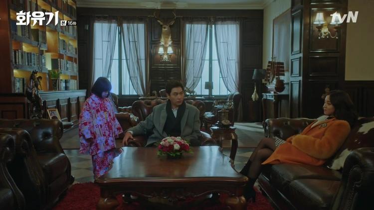 Asanyeo và giáo sư Kang Dae Sung đang có âm mưu phá hủy thế giới và Kang Dae Sung sẽ làm Vua.