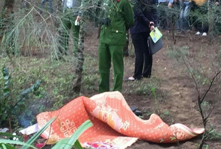 Nơi phát hiện thi thể kỹ sư người Hàn. Ảnh: Báo Thanh Hóa.