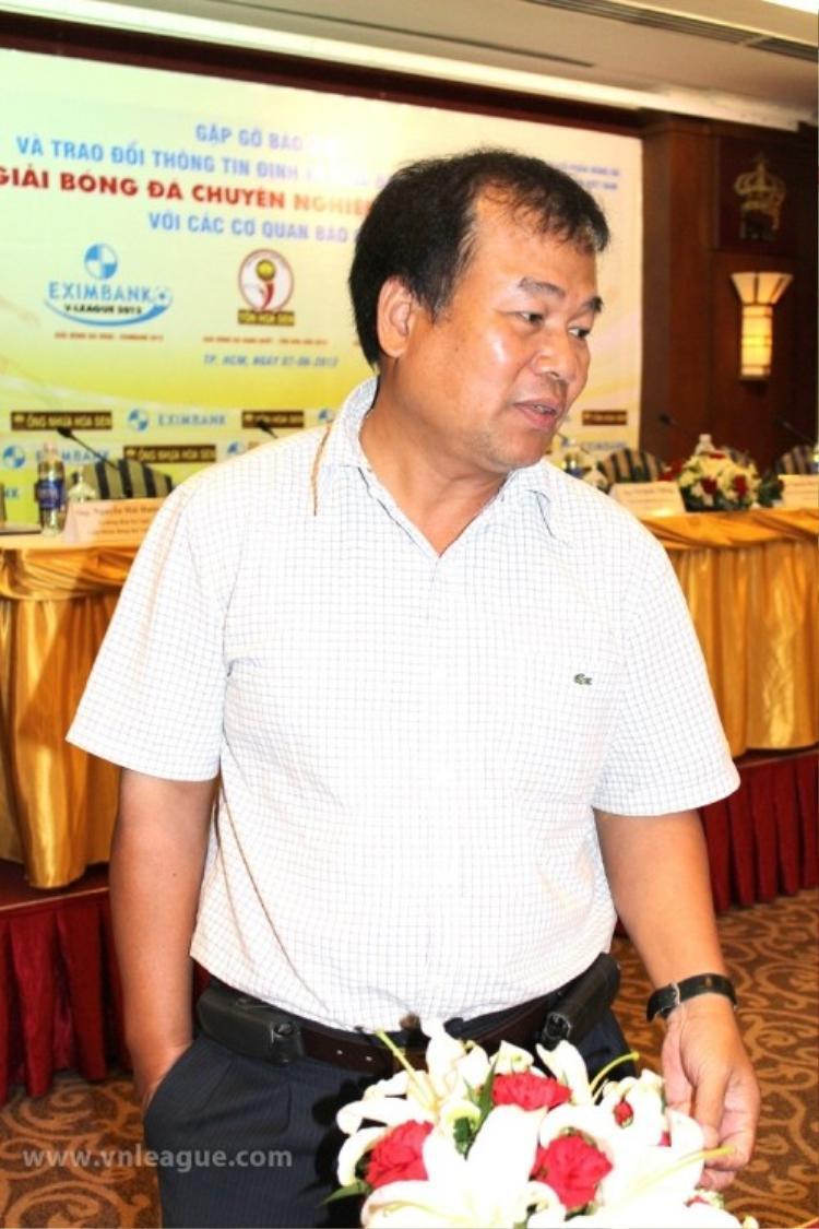 Ông Nguyễn Hải Hường chỉ ra cơ hội giảm án cho các cầu thủ Long An.
