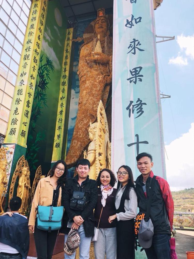 Đầu năm mới là dịp Phương Mỹ Chi có nhiều thời gian nghỉ ngơi và ở cạnh gia đình, fan ruột.