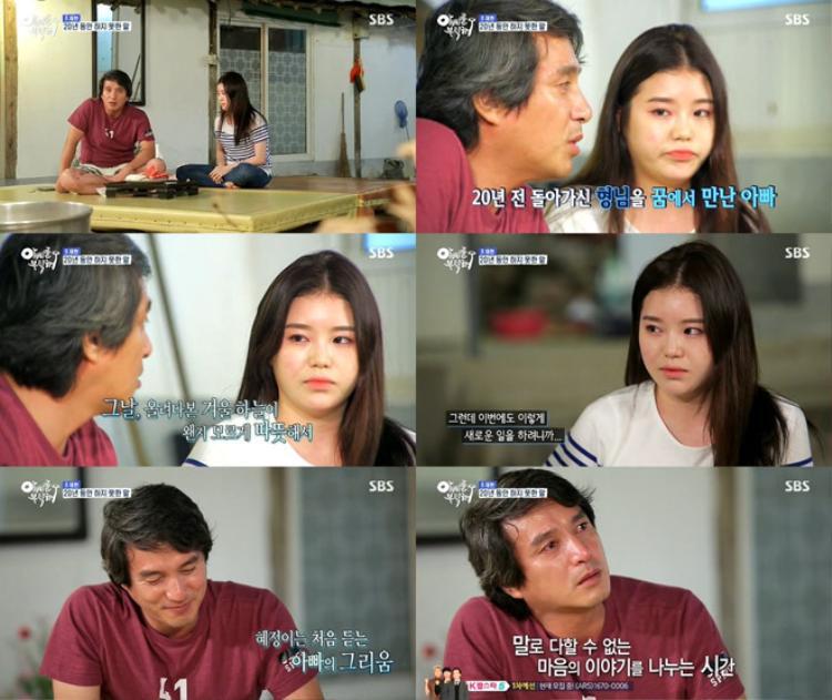 Nam diễn viên và con gái - nữ diễn viên Jo Hye Jung.