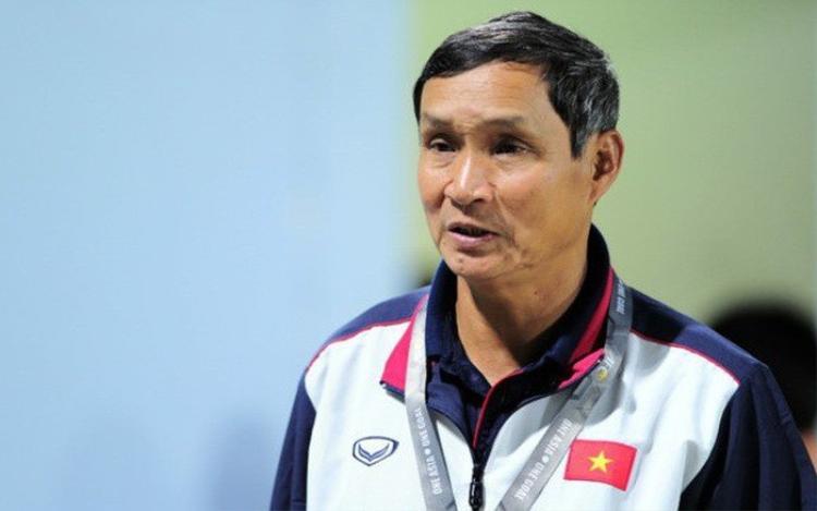 HLV Mai Đức Chung, người mang may mắn và thành công cho bóng đá Việt Nam, nhất là ở cấp độ đội tuyển nữ. Ảnh: VTV