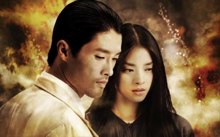 Nam tài tử và bạn diễn Ngô Thanh Vân.