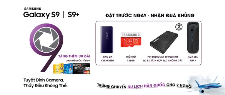 Đã có thể đặt hàng bộ đôi bom tấn Galaxy S9/S9+, giá khởi điểm 19 triệu VND