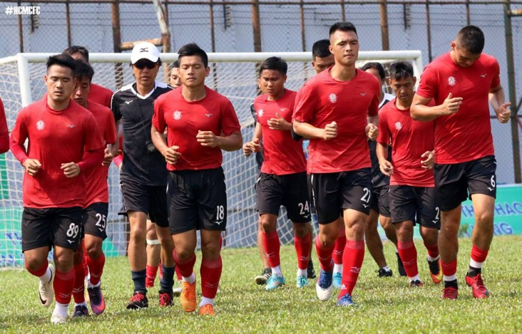 Đội bóng của HLV Miura đang rất tích cực chuẩn bị cho mùa bóng 2018.