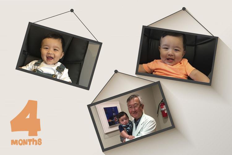 Từ khi lên chức bố, anh Bo luôn sắp xếp công việc và có những sự ưu tiên nhất định cho gia đình nhỏ của mình.