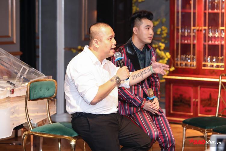 Không tổ chức được liveshow với Ưng Hoàng Phúc trong những năm tháng đồng hành cùng nhau là điều mà Quang Huy tiếc nhất.