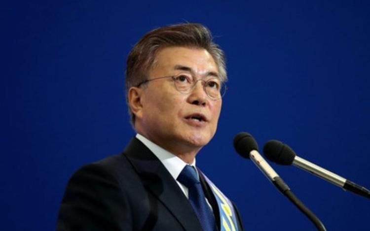 Tổng thống Moon Jae In sẽ xử lý nghiêm những vụ bê bối tình dục tại Hàn Quốc.