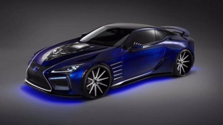 Màu sơn của chiếc chiếc Lexus LC 500 trong Black Panther lấy cảm hứng từ loài bướm morpho ở Trung Nam Mỹ.