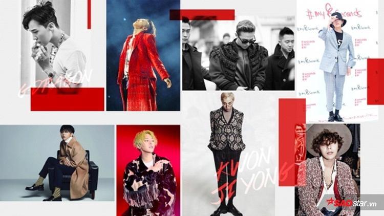 Gout thời trang của G-Dragon chưa bao giờ lỗi mốt.