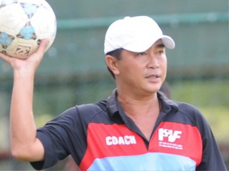 HLV Trần Minh Chiến là gương mặt mới ở V.League.