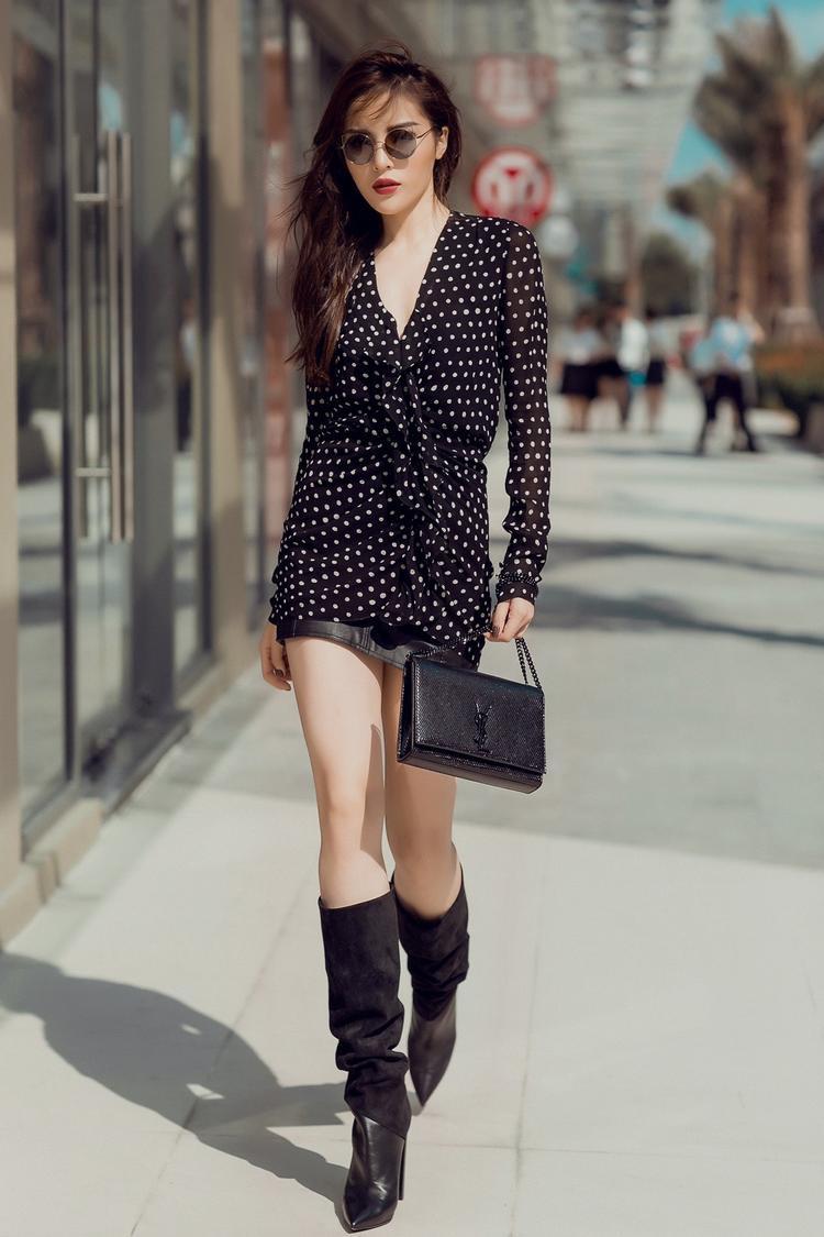Trong năm 2018, Kỳ Duyên tiếp tục sẽ trung thành với hình ảnh chất, cá tính cũng như giữ vững phong độ fashion icon của mình.