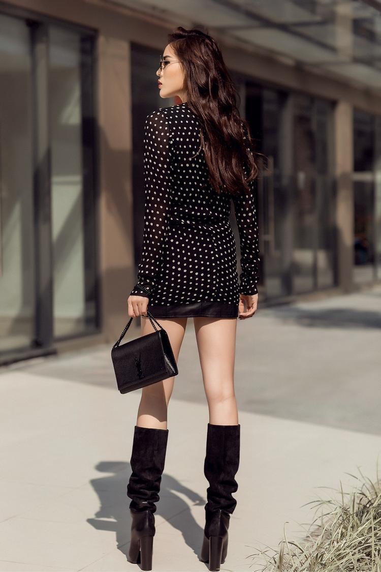 Theo quản lý và cũng là người định hình phong cách cho Kỳ Duyên, nàng hậu này không hướng đến vẻ đẹp chuẩn mực hoa hậu mà muốn trở thành IT Girl đậm chất Tây, là biểu tượng thời trang cho các bạn trẻ học hỏi.