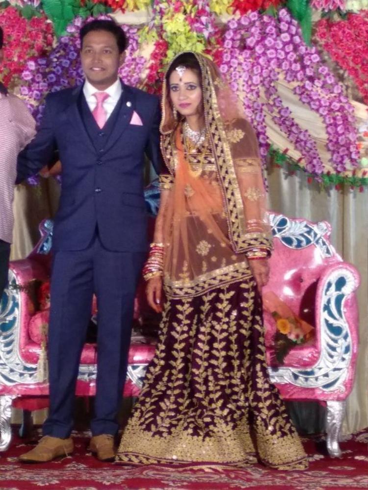 Cặp vợ chồnganh Soumya Sekhar Sahu. Ảnh: WNS.com