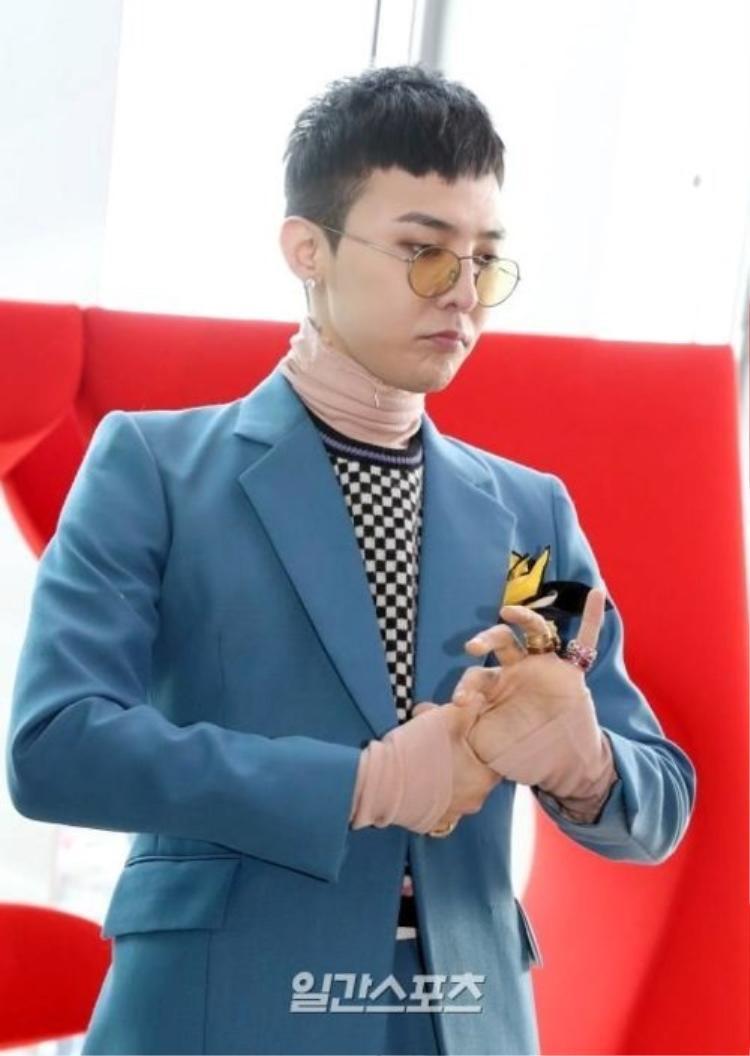 G-Dragon xuất hiện trong một sự kiện trước ngày nhập ngũ.
