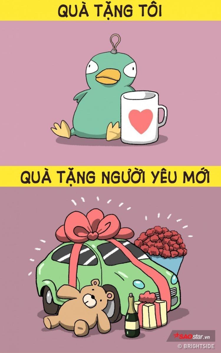 Khi yêu bạn, chưa bao giờ anh ta tặng bạn món quà đắt tiền nào nhưng chia tay xong, anh ta lại hào phóng bất ngờ với người yêu mới!
