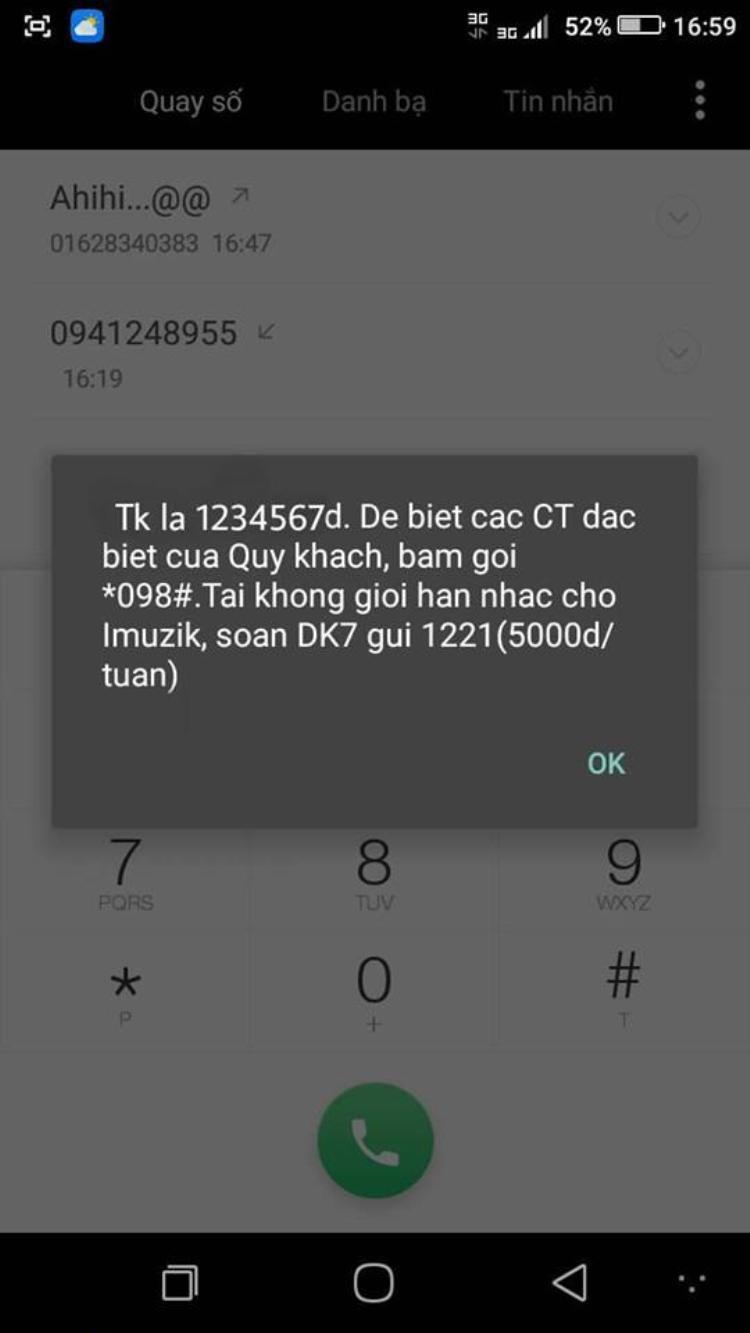 """Số tiền """"max đẹp"""" 1.234.567 VNĐ. Ảnh: Nguyễn Danh Thạch."""