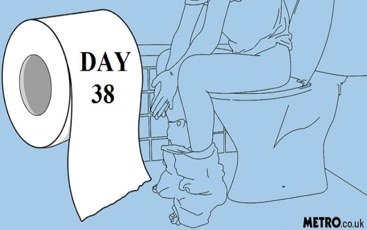 Lamarr Chambers đang giữ kỷ lục về số ngày không đi đại tiện.