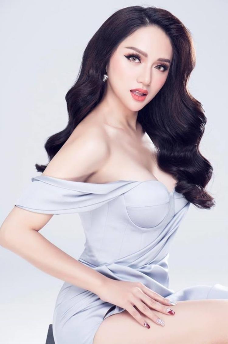 Ca sĩ Hương Giang hiện là đại diện Việt Nam tạiMiss International Queen(Hoa hậu chuyển giới Quốc tế 2018). Cô là đại diện duy nhất của Việt Nam chinh chiến tại đấu trường nhan sắc này.