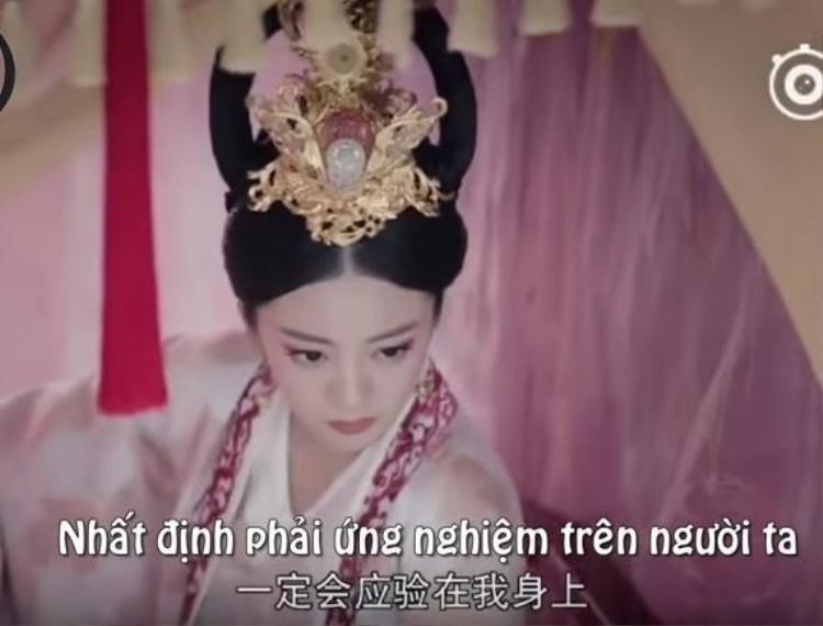 Trưởng nữ Độc Cô Bàn Nhược (An Dĩ Hiên)thề muốn thực hiện lời tiên đoán Độc Cô thiên hạ