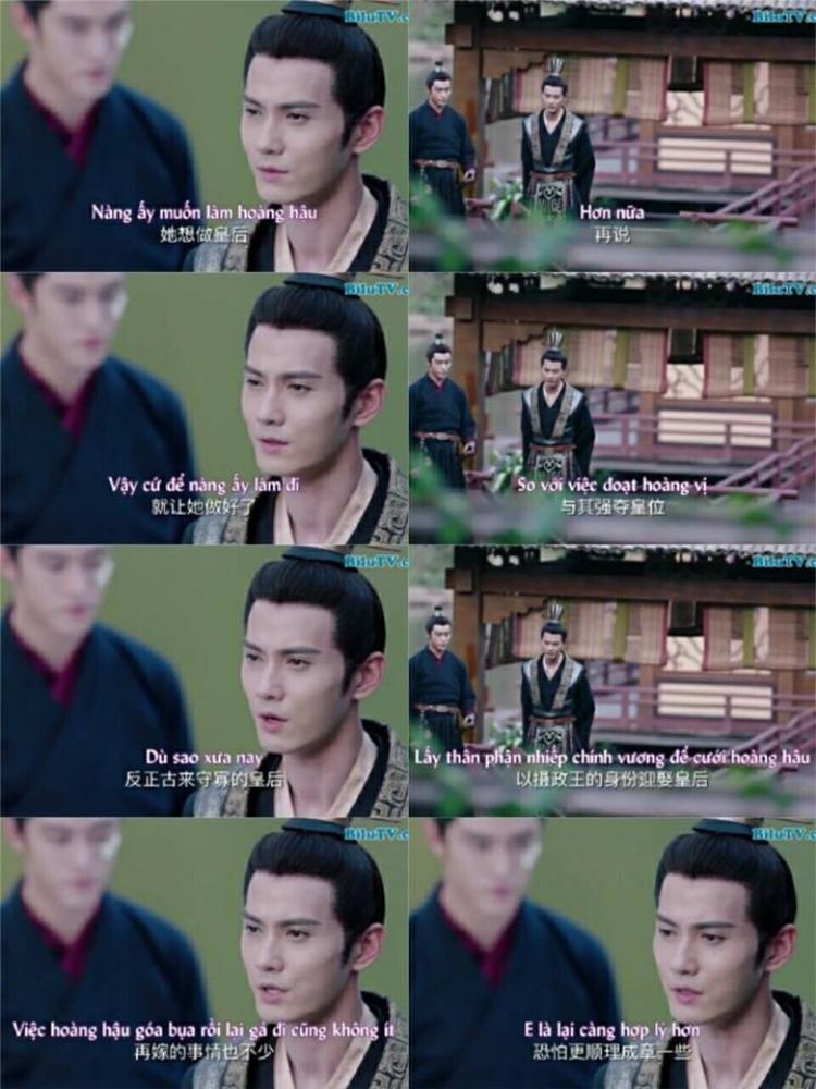 Thái sư Vũ Văn Hộ không hổ là xứng đôi với Bàn Nhược, âm hiểm thế này fan không mê mẩn mới là lạ